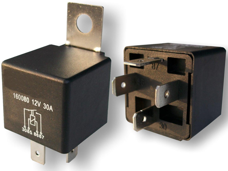 lastrelais relais kfz relais 12 volt 30 ampere. Black Bedroom Furniture Sets. Home Design Ideas