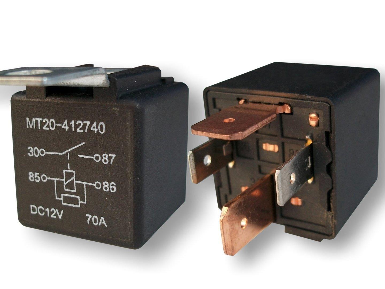 lastrelais relais kfz relais 12 volt 70 ampere. Black Bedroom Furniture Sets. Home Design Ideas